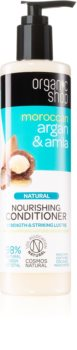 Organic Shop Natural Moroccan Argan & Amla Nourishing Conditioner For Damaged And Colored Hair