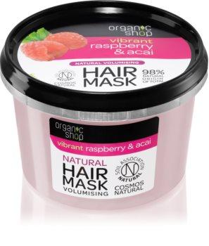 Organic Shop Vibrant Raspberry & Acai masca de par hranitoare