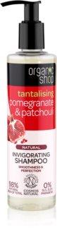 Organic Shop Natural Pomegranate & Patchouli Refresh Shampoo with Moisturizing Effect