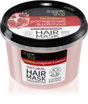 Organic Shop Tantalising Pomegranate & Patchouli Energigivande hårmask