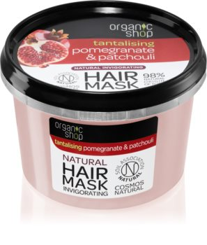 Organic Shop Tantalising Pomegranate & Patchouli masca de par energizant