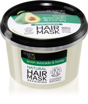 Organic Shop Natural Avocado & Honey regenerierende Maske für die Haare