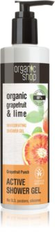 Organic Shop Organic Grapefruit & Lime gel doccia attivo