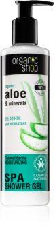 Organic Shop Organic Aloe & Minerals harmonizáló tusfürdő gél