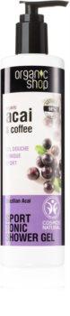 Organic Shop Organic Acai & Coffee docciaschiuma  rivitalizzante