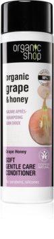 Organic Shop Organic Grape & Honey Pehmeä Hoitava Hoitoaine
