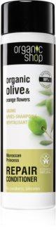 Organic Shop Organic Olive & Orange Flowers megújító hajkondicionáló