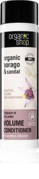 Organic Shop Organic Borago & Sandal Volume Condicioner