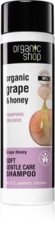 Organic Shop Organic Grape & Honey shampoo trattante delicato