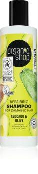 Organic Shop Organic Olive & Orange Flowers obnovujúci šampón