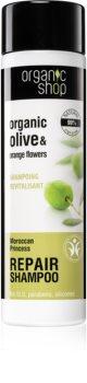 Organic Shop Organic Olive & Orange Flowers відновлюючий шампунь