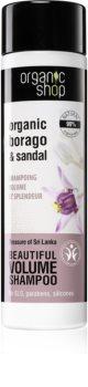 Organic Shop Organic Borago & Sandal šampon za volumen
