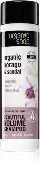 Organic Shop Organic Borago & Sandal Volumen-Shampoo