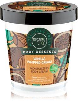 Organic Shop Body Desserts Vanilla crema idratante corpo