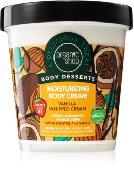 Organic Shop Body Desserts Vanilla Fugtgivende kropscreme