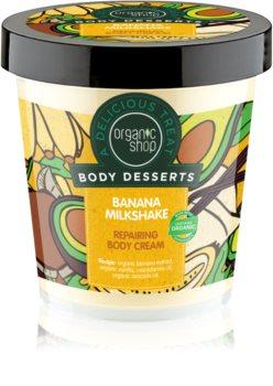 Organic Shop Body Desserts Banana Milkshake crema corpo rigenerante