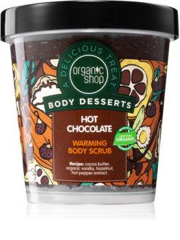 Organic Shop Body Desserts Hot Chocolate Nourishing Body Scrub