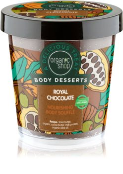 Organic Shop Body Desserts Royal Chocolate Nourishing Body Souffle