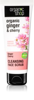 Organic Shop Organic Ginger & Cherry Exfoliating Face Cleanser