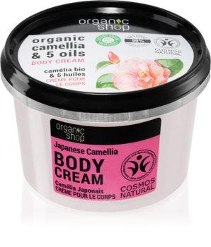 Organic Shop Organic Camellia & 5 Oils pečující tělový krém