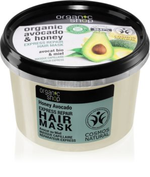 Organic Shop Organic Avocado & Honey Elvyttävä Hiusnaamio