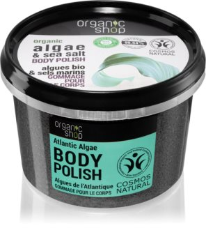 Organic Shop Organic Algae & Sea Salt Body Scrub