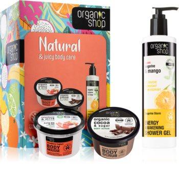 Organic Shop Natural & Juicy Body Care dárková sada