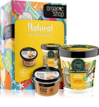 Organic Shop Natural & Sweet Body Care ajándékszett (testre)