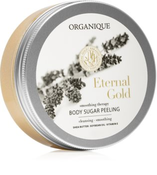 Organique Eternal Gold Smoothing Therapy cukrový peeling pro zralou pokožku
