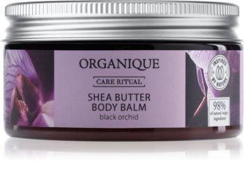 Organique Black Orchid подхранващ балсам за тяло с масло от шеа