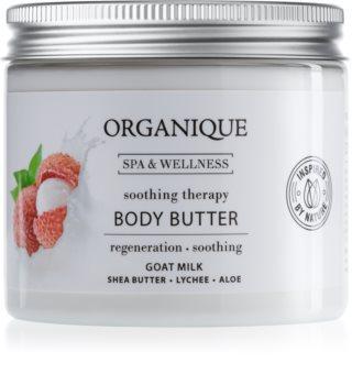 Organique Soothing Therapy tápláló vaj a testre kecsketejjel