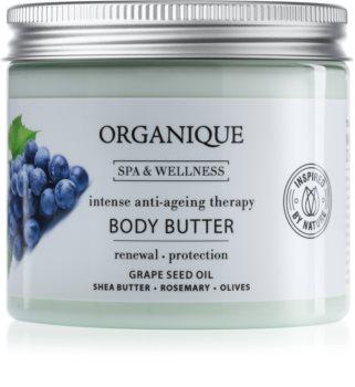 Organique Anti Ageing Therapy schützende Körperbutter gegen Hautalterung