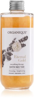 Organique Eternal Gold Smoothing Therapy Bademilch mit Goldpuder