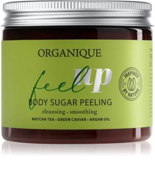 Organique Feel Up cukrový peeling na tělo