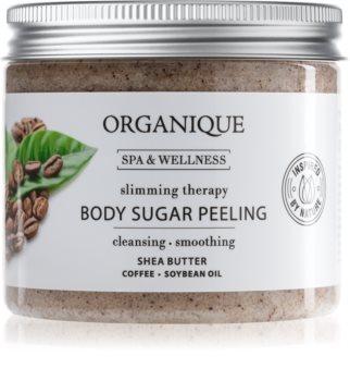 Organique Slimming Therapy cukrový tělový peeling proti celulitidě