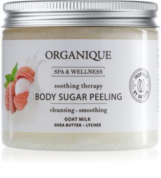 Organique Soothing Therapy cukrový peeling pro zklidnění pokožky