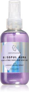 Oriflame Crystologie Blissful Aura parfémovaný sprej na tělo a vlasy