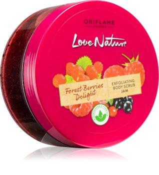 Oriflame Love Nature Forest Berries Delight čisticí tělový peeling