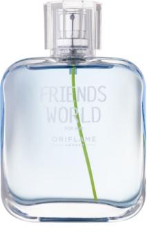 Oriflame Friends World Eau de Toilette voor Mannen