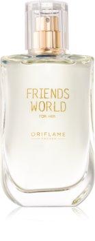 Oriflame Friends World for Her Eau de Toilette Naisille