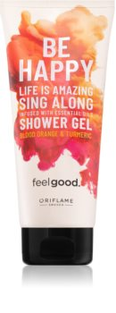 Oriflame Feel Good Be Happy освежаващ душ гел