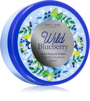 Oriflame Wild Blueberry мултифункционален крем за лице и тяло