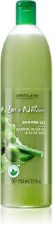 Oriflame Love Nature Caring Olive Oil & Aloe Vera Duschgel mit Auszügen aus Oliven