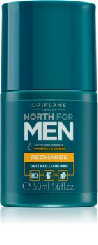 Oriflame North For Men Roll-on Deodorantti Miehille