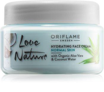 Oriflame Love Nature Aloe Vera & Coconut Water Moisturizing Facial Cream For Normal Skin