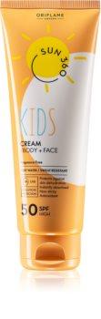 Oriflame Sun 360 crema abbronzante per bambini SPF 50