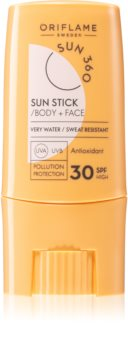 Oriflame Sun 360 crema abbronzante in stick SPF 30