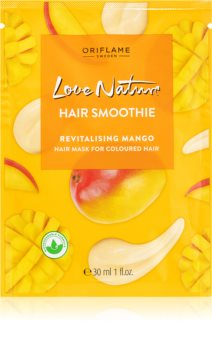Oriflame Love Nature ревитализираща маска  за боядисана коса