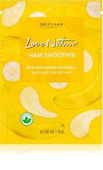 Oriflame Love Nature maschera idratante per capelli secchi