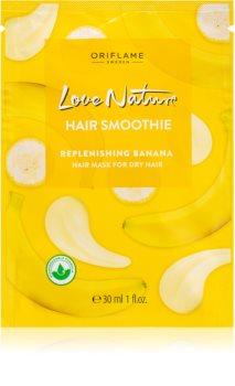 Oriflame Love Nature Replenishing Banana Hydraterende Masker voor Droog Haar